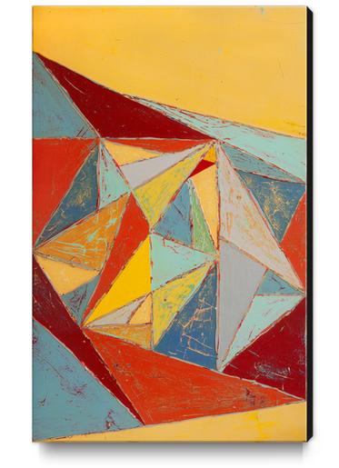 Cristallisation Canvas Print by Pierre-Michael Faure