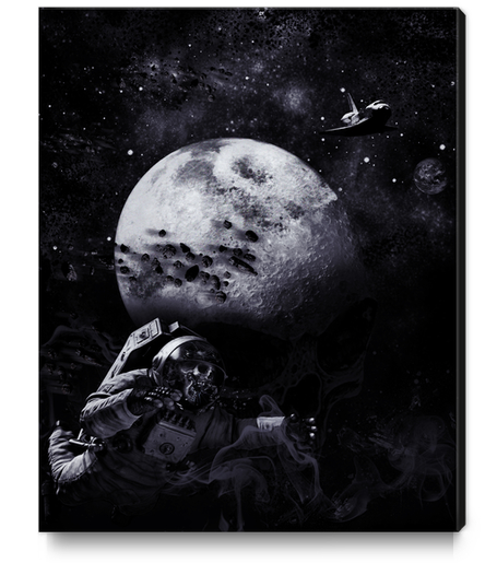 Dark of the Moon Canvas Print by dEMOnyo