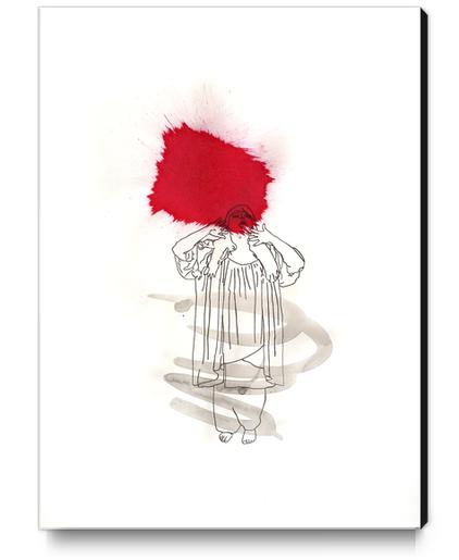 La Diva Canvas Print by Pierre-Michael Faure