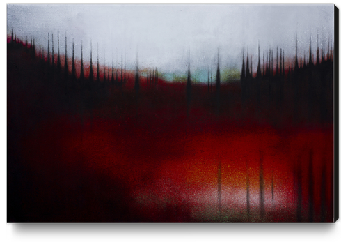FOREST SOUND Canvas Print by db Waterman