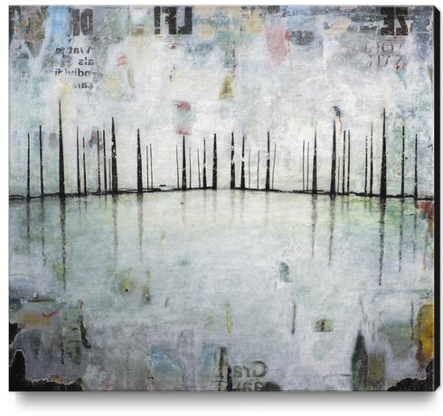 FROZEN SHADOWS Canvas Print by db Waterman