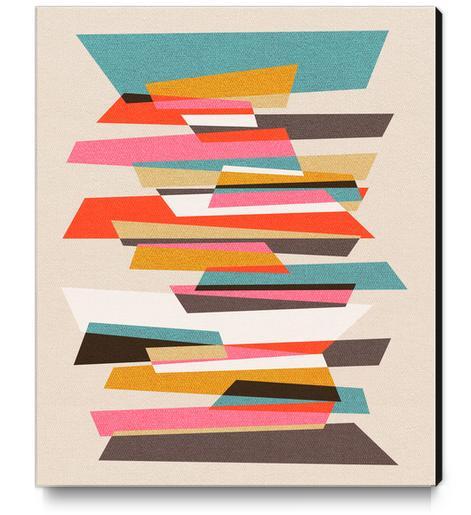 Fragments VII Canvas Print by Susana Paz