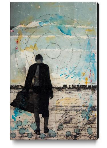 GIRL WANDERING Canvas Print by db Waterman