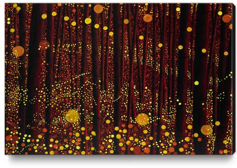 GLOW Canvas Print by db Waterman