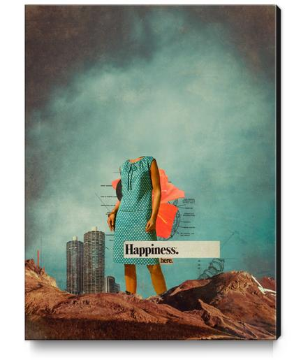 Happiness Here Canvas Print by Frank Moth