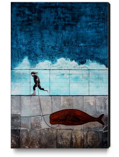 IMAGINARY FRIEND Canvas Print by db Waterman