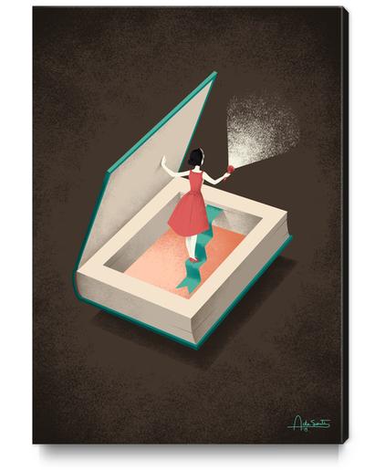 Inquiring Canvas Print by Andrea De Santis