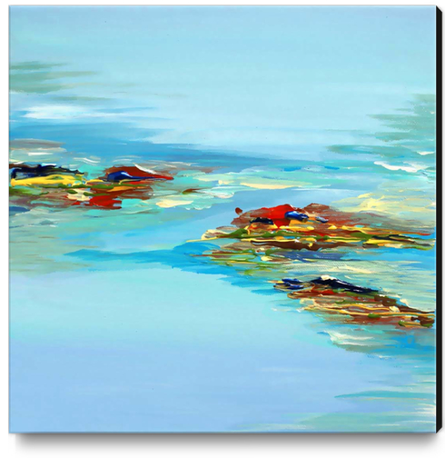 Coastal Scene Canvas Print by Irena Orlov