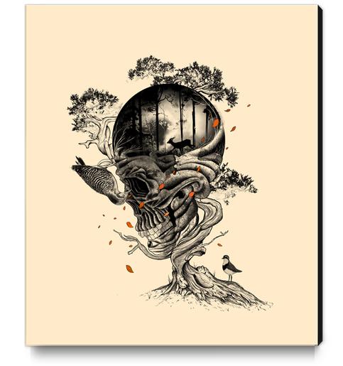 Lost Translation Canvas Print by Nicebleed