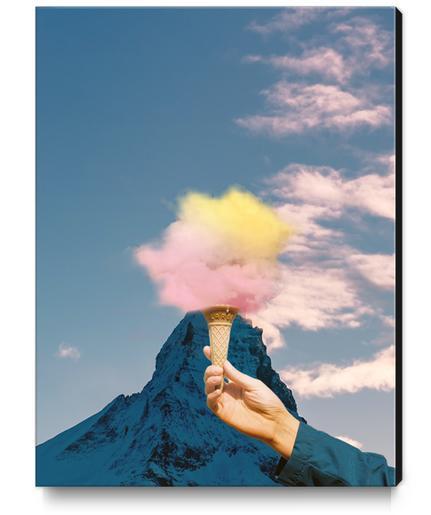 Low fat strawberry ice cream Canvas Print by fokafoka