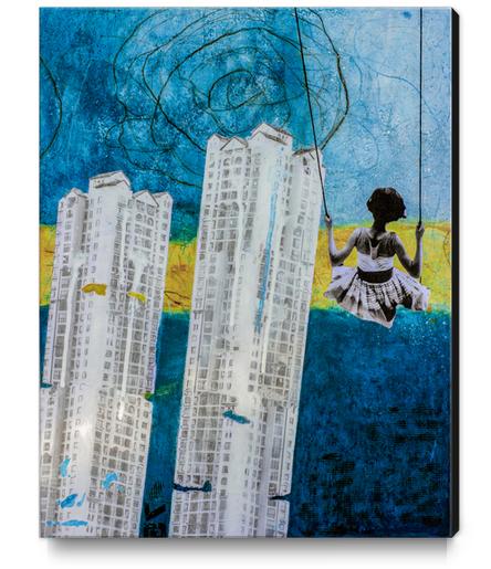 MONDAY SWING Canvas Print by db Waterman