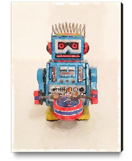 My Robot Canvas Print by Malixx