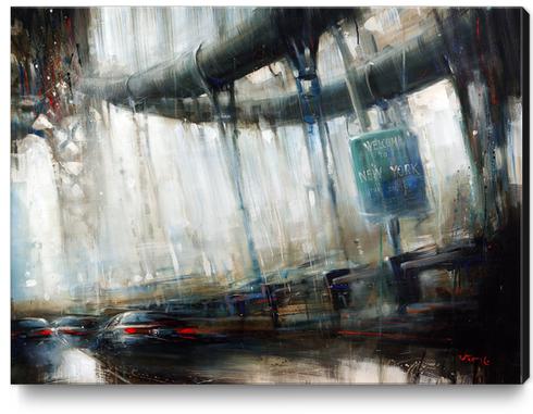 NEWYORK2 Canvas Print by Vantame