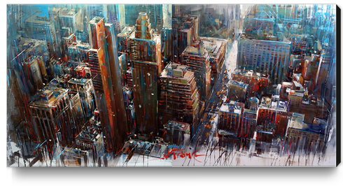 NEX YORK Canvas Print by Vantame