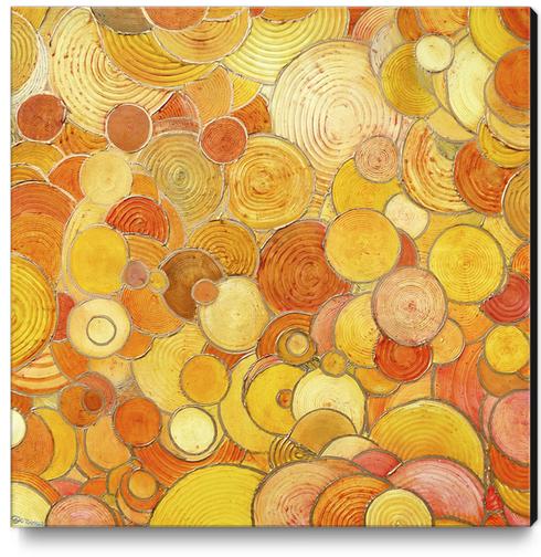 Pop-Bubbles Canvas Print by di-tommaso