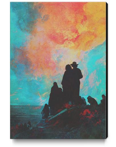 Pioneers Canvas Print by lacabezaenlasnubes