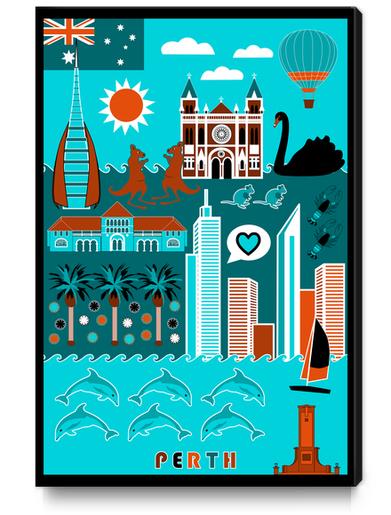 Perth Lifestyle Canvas Print by vannina