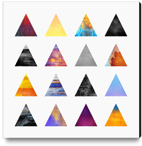 Pyramids Canvas Print by Elisabeth Fredriksson
