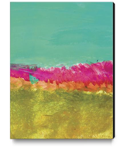 Montagnes d'Automne Canvas Print by Malixx
