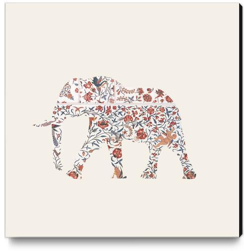 Elephant Canvas Print by Oleg Borodin
