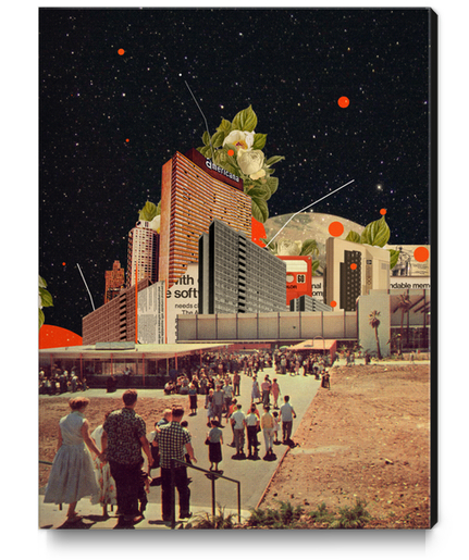 Software Road Canvas Print by Frank Moth