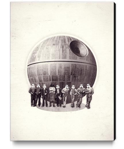 Death Star Canvas Print by Oleg Borodin