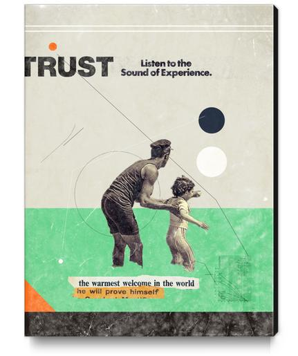Trust Canvas Print by Frank Moth