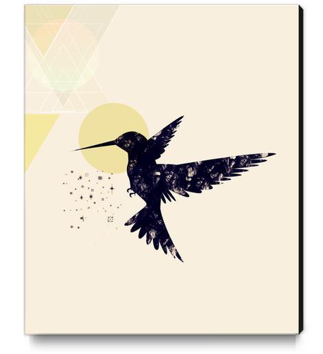 Bird X Canvas Print by Amir Faysal