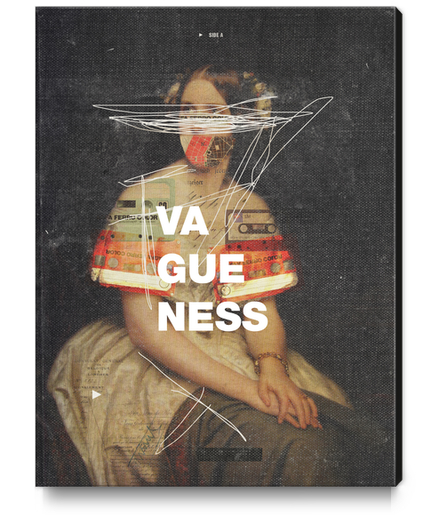 Vagueness Canvas Print by Frank Moth