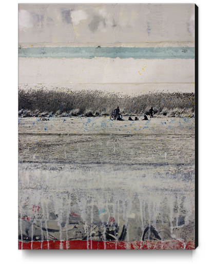 WOUNDED GRASS Canvas Print by db Waterman