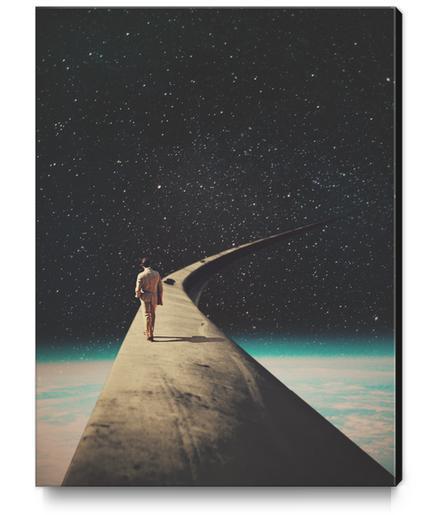 We Chose This Road My Dear Canvas Print by Frank Moth