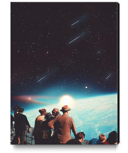 We Have Been Promised Eternity Canvas Print by Frank Moth