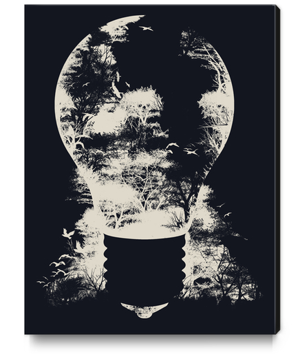 A Good Idea Canvas Print by Tobias Fonseca