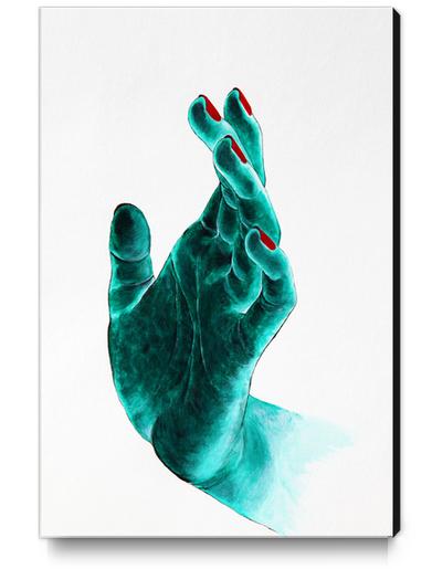 Hand Canvas Print by Nika_Akin