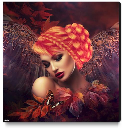 AUTUMN ANGEL Canvas Print by G. Berry