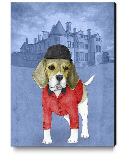Beagle Canvas Print by Barruf