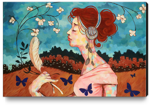 Belle Epoch Canvas Print by Ursula X Young