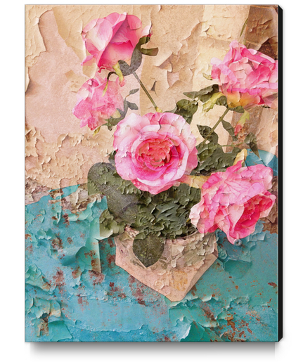 Roses de Lourmarin Canvas Print by Ivailo K