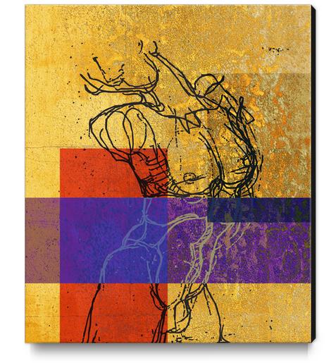 Buste Canvas Print by Georgio Fabrello