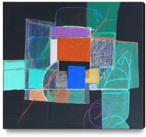 Construction Canvas Print by Pierre-Michael Faure