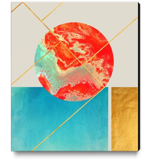 Earth & Sea Canvas Print by Uma Gokhale