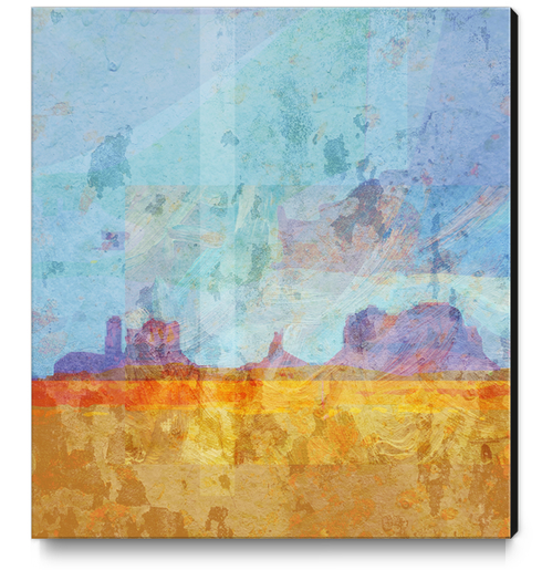 Monument VAlley Canvas Print by Malixx