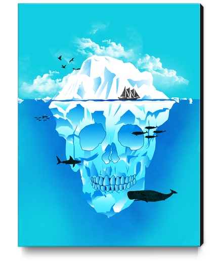 Cold Cruising Canvas Print by TenTimesKarma