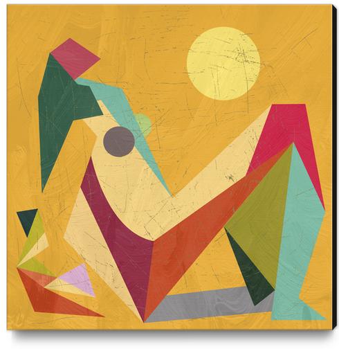 Glaring Sunlight Canvas Print by Vic Storia