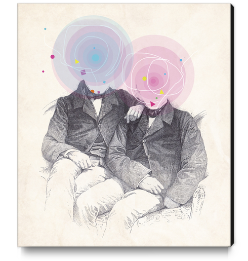 Goncourt Brothers Canvas Print by tzigone