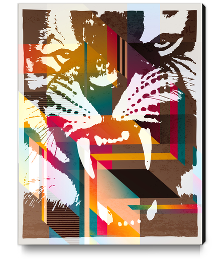 Roar! Canvas Print by Vic Storia