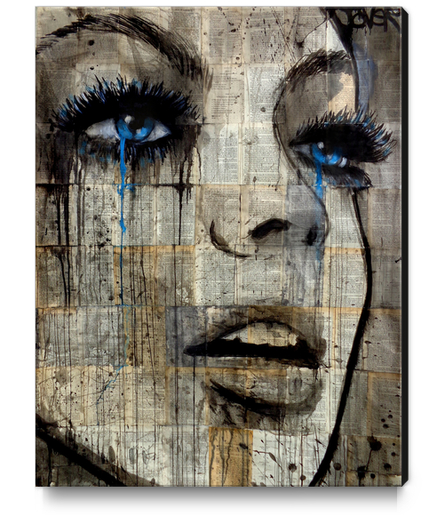 Infusion Canvas Print by loui jover