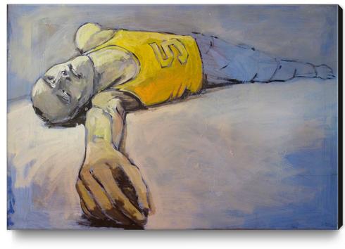 Asleep? Canvas Print by Georgio Fabrello
