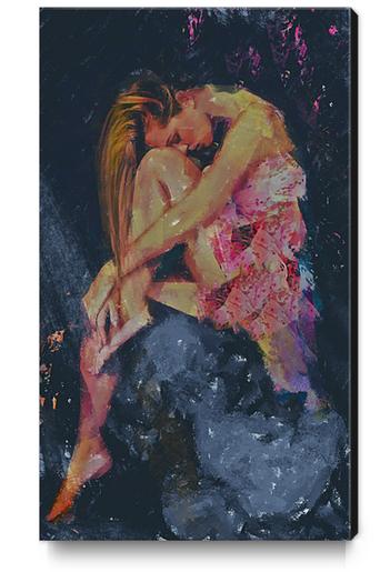 Ledges Canvas Print by Galen Valle