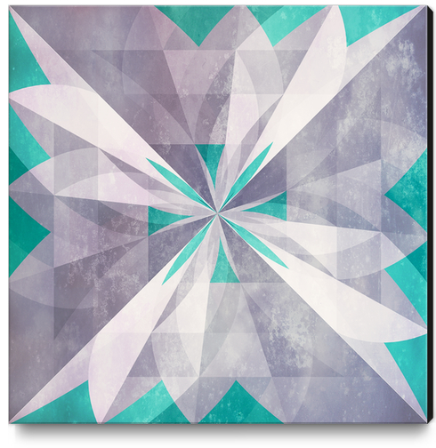 Purple mint Canvas Print by DejaReve
